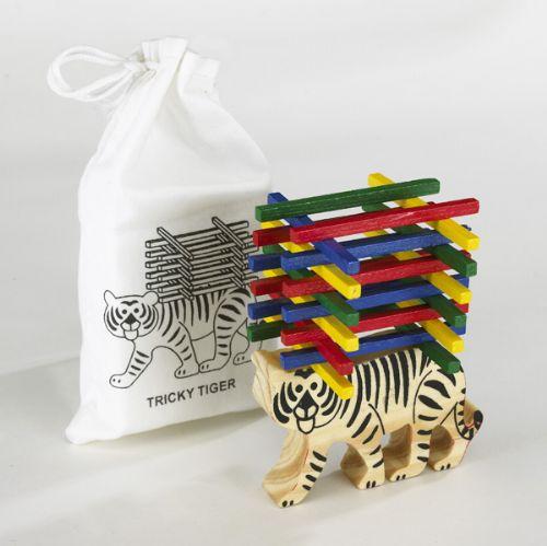 Juego De Habilidad Tricky Tiger Beige Juegos Infantiles
